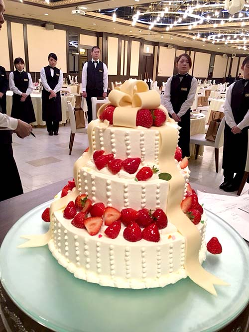 ウエディングケーキ